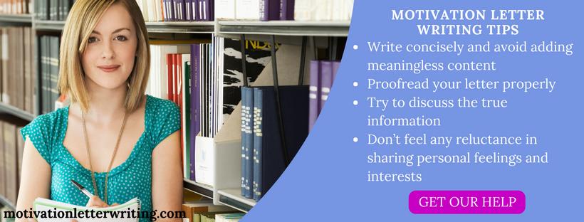 motivation letter for university writing tips